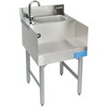 "18"" Stainless Steel Underbar Recess/Sink Combination - MM-SD18RSC - 18""L x 19""D x 30""H - NSF Listed"
