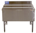 "36"" Stainless Steel Underbar Ice Chest, w/ 8 product cold plate - MM-SD36IC+8: 36""L x 19""D x 30""H - NSF Listed"
