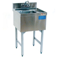 "18"" Stainless Steel Hand Sink - MM-SK18HS - 18""L x 21""D x 30""H - NSF Listed"
