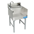 "18"" Stainless Steel Underbar Recess/Sink Combination - MM-SK18RSC - 18""L x 21""D x 30""H - NSF Listed"