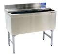 "24"" Stainless Steel Underbar Ice Chest, w/ 8 product cold plate - MM-SK24IC+8: 24""L x 21""D x 30""H - NSF Listed"